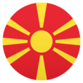 Flag: North Macedonia on JoyPixels 4.5