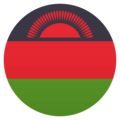 Flag: Malawi on JoyPixels 4.5
