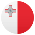 Flag: Malta on JoyPixels 4.5