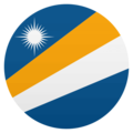 Flag: Marshall Islands on JoyPixels 4.5