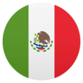 Flag: Mexico on JoyPixels 4.5