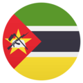 Flag: Mozambique on EmojiOne 4.5
