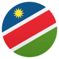 Flag: Namibia on EmojiOne 4.5