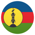 Flag: New Caledonia on JoyPixels 4.5