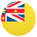 Flag: Niue on EmojiOne 4.5