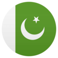Flag: Pakistan on JoyPixels 4.5