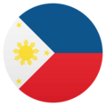 Flag: Philippines on JoyPixels 4.5