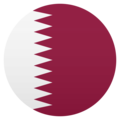 Flag: Qatar on EmojiOne 4.5