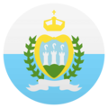 Flag: San Marino on EmojiOne 4.5
