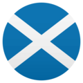 Flag: Scotland on EmojiOne 4.5