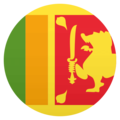 Flag: Sri Lanka on EmojiOne 4.5