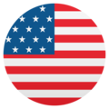 Flag: United States on EmojiOne 4.5