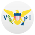 Flag: U.S. Virgin Islands on EmojiOne 4.5