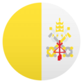 Flag: Vatican City on EmojiOne 4.5