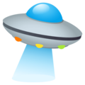 Flying Saucer on JoyPixels 4.5