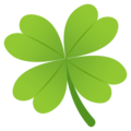 Four Leaf Clover on EmojiOne 4.5
