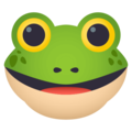 Frog Face on EmojiOne 4.5