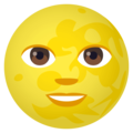 Full Moon Face on EmojiOne 4.5