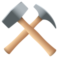 Hammer and Pick on EmojiOne 4.5