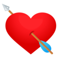 Heart With Arrow on EmojiOne 4.5