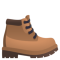Hiking Boot on EmojiOne 4.5