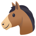 Horse Face on EmojiOne 4.5