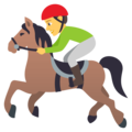 Horse Racing on JoyPixels 4.5