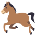 Horse on EmojiOne 4.5