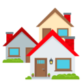 Houses on EmojiOne 4.5