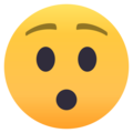 Hushed Face on EmojiOne 4.5