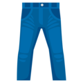 Jeans on EmojiOne 4.5