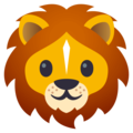 Lion Face on JoyPixels 4.5