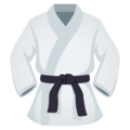 Martial Arts Uniform on EmojiOne 4.5