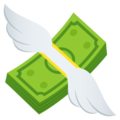 Money With Wings on EmojiOne 4.5