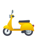 Motor Scooter on JoyPixels 4.5