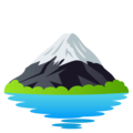 Mount Fuji on EmojiOne 4.5