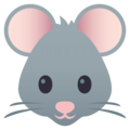 Mouse Face on EmojiOne 4.5