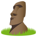 Moai on EmojiOne 4.5