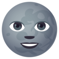 New Moon Face on EmojiOne 4.5