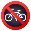 No Bicycles on EmojiOne 4.5