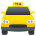 Oncoming Taxi on EmojiOne 4.5