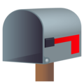 Open Mailbox With Lowered Flag on EmojiOne 4.5