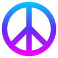 Peace Symbol on EmojiOne 4.5