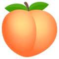 Peach on EmojiOne 4.5