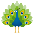 Peacock on JoyPixels 4.5