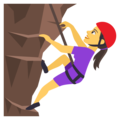 Person Climbing on JoyPixels 4.5