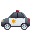 Police Car on EmojiOne 4.5