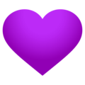 Purple Heart on EmojiOne 4.5