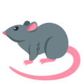Rat on EmojiOne 4.5