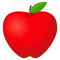 Red Apple on EmojiOne 4.5